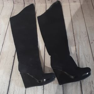 Barely worn VIA SPIGA leather 7.5m boots, $225.00